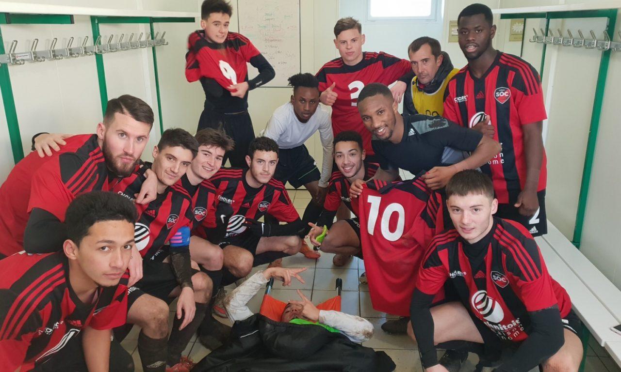 D1 (12e journée) : Le SO Cholet (c) remporte une victoire collective face à une équipe de Liré-Drain frustrée du résultat (2-1).