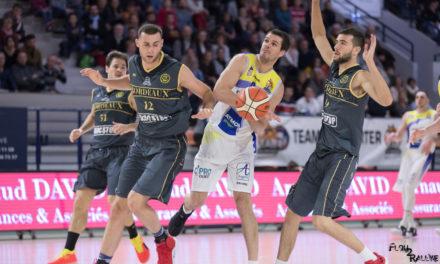 NM1 (23e journée) : L'Étoile Angers Basket a complètement déjoué à Bordeaux (71-65).