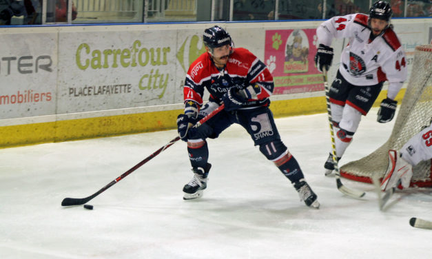 Ligue Magnus (44e journée) : Angers s'incline durant la prolongation à Mulhouse (2-1, ap.).