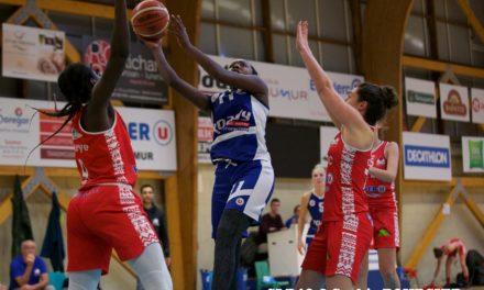 Une équipe de Saumur Loire Basket 49, à deux vitesses, remporte le derby face à Mûrs-Érigné (78-59).