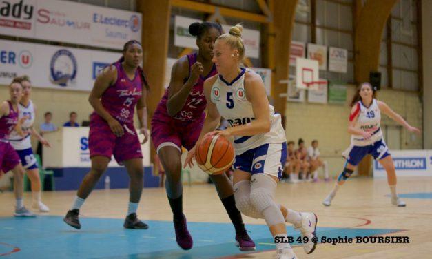 Les filles du Saumur Loire Basket 49 en déplacement à Tarbes, ce samedi.