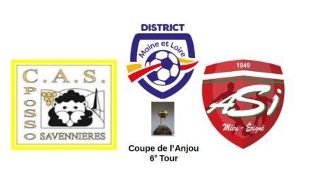 Coupe de l'Anjou (6e Tour) : Le tenant du titre, Mûrs-Erigné, se déplace à la Possosavennières !