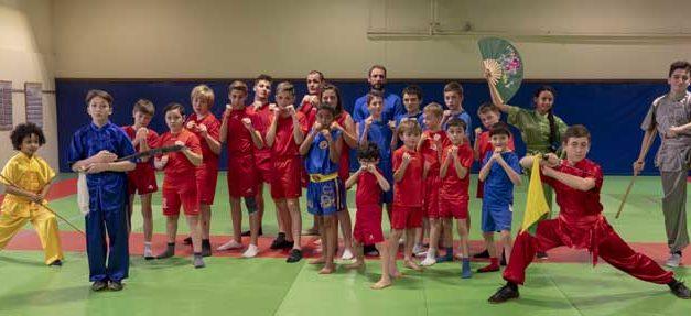 Wushu : retour sur la compétition régionale du 3 février 2019.