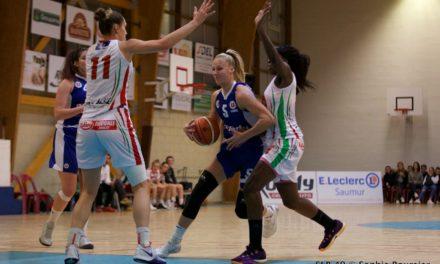 Le Saumur Loire Basket 49 de nouveau en déplacement, à Anglet, ce samedi.
