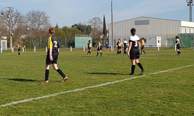 Les filles d'Andrezé-Jub-Jallais n'ont pas fait de détail à la Possosavennières (8-0).
