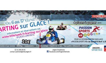 Du Karting sur glace à la Patinoire du Haras !