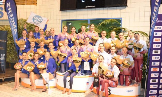 Les premières médailles des N1 tombent à la piscine Jean Bouin.
