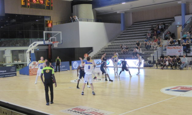 NM1 (2e phase) : L'Étoile Angers Basket remporte le match au sommet face à Charleville (86-84).