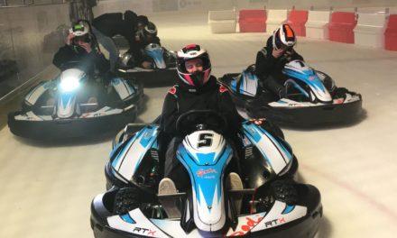 L'animation Karting sur glace permet au public de découvrir les joies de la glisse différemment.