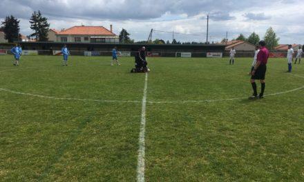 R2 (20e journée) : Encore une défaite en fin de match de Montrevault face à Mareuil (2-1).