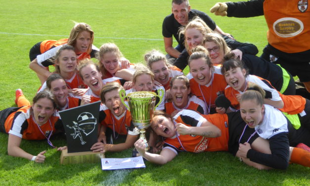 Coupe de l'Anjou : Les filles de l'EA Baugeois remporte la finale face aux Verchers (4-1).
