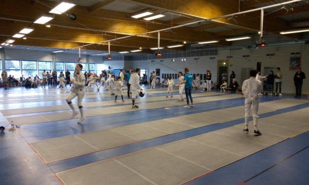 Championnat départemental pour les jeunes d'Angers NDC Escrime.