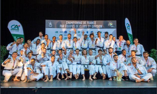 L'Étoile du Blanc-Mesnil a réalisé le doublé aux Championnats de France par équipes de judo.