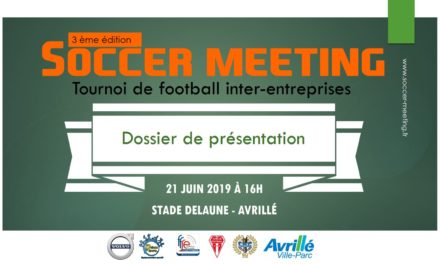 Présentation du Soccer Meeting 2019 !