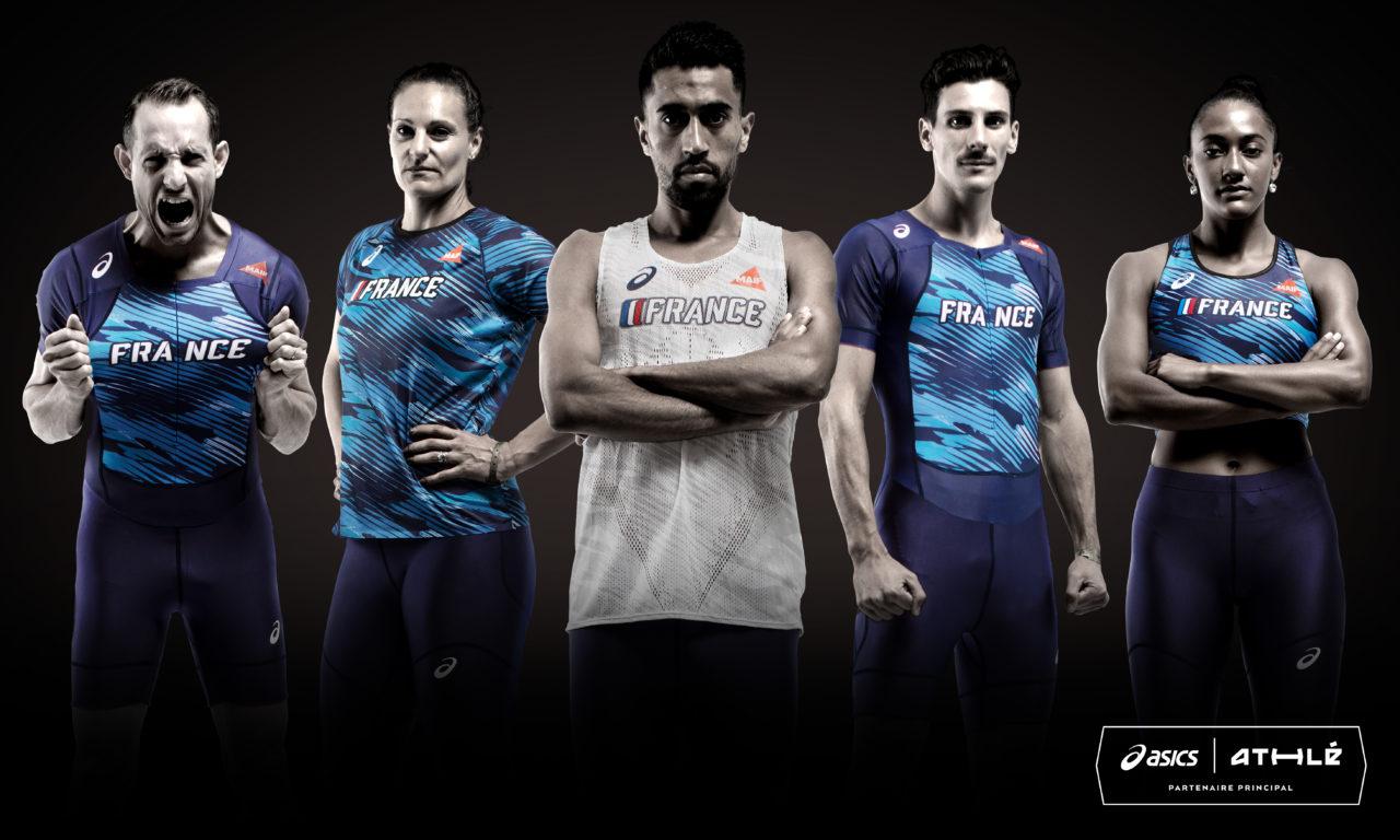 ASICS dévoile le nouveau maillot de l'Équipe de France d'Athlétisme !