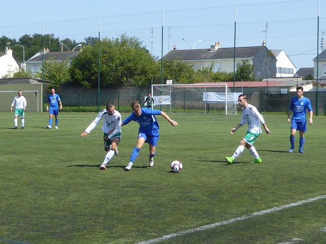 Chalonnes-Chaudefonds a montré du caractère à la Croix Blanche (2-1).