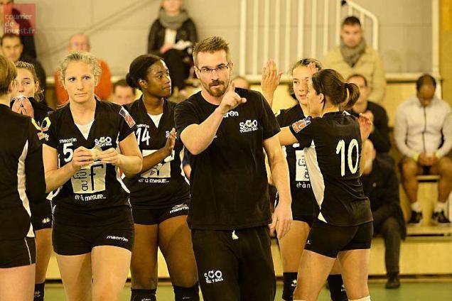 Cap à l'Ouest pour la N3F pour le SCO Volley-Ball !