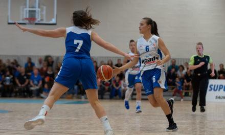 Les joueuses du Saumur Loire Basket 49 s'imposent sur le fil face au leader Basket Landes (57-56)