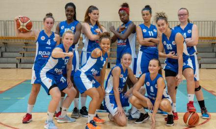 Les joueuses du Saumur Loire Basket 49 reçoivent Anglet ce samedi à 20h00