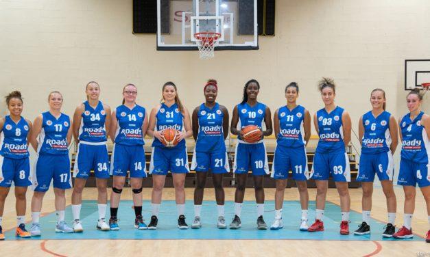 Les joueuses du Saumur Loire Basket 49 à domicile contre Tarbes ce samedi à 17h15.