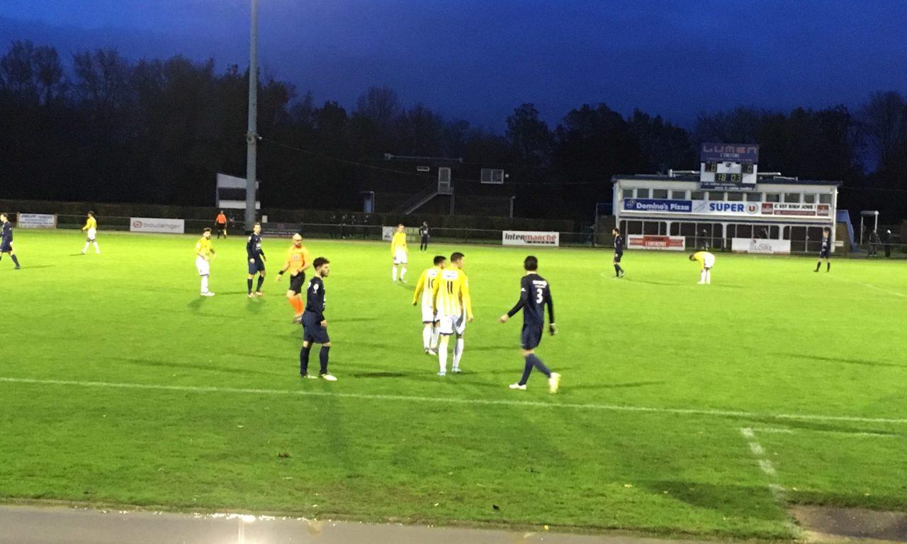 R1 (J6) : Match nul équitable pour Angers NDC à Saint-Sébastien-sur-Loire.