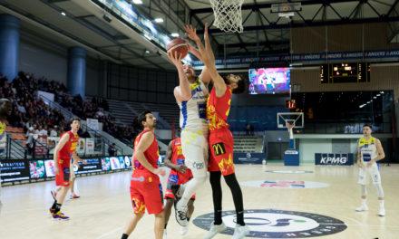 NM1 (J21) : Victoire poussive de l'Étoile Angers Basket face à Tarbes (86-82).