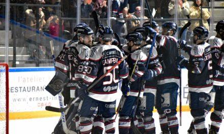 LM (M4) : Les Ducs d'Angers se qualifient pour les demi-finales après leur succès à Bordeaux (3-1).