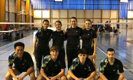 L'ASPC Badminton en route vers la Nationale !
