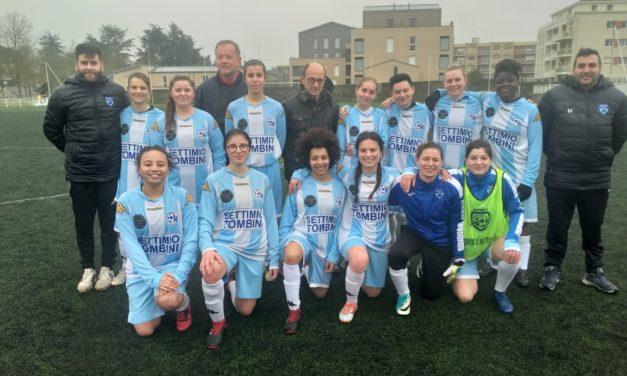 D1F (A) : Les Féminine d'Angers NDC restent leader