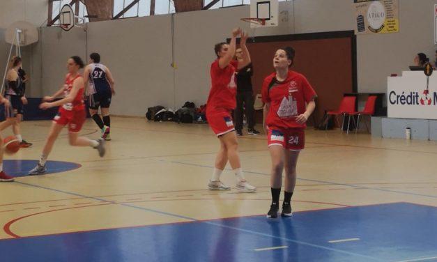 Basket-Nationale 3 féminine Poule D : Mûrs-Erigné se rachète de sa bévue du match aller.