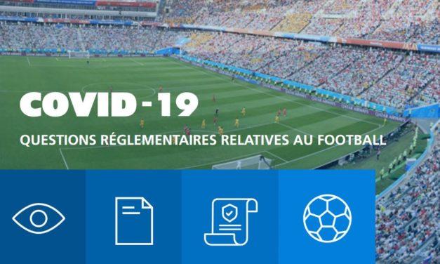 Les directives de la FIFA pour la gestion des conséquences juridiques du Covid-19.