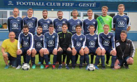 CF (T1) : Match ouvert, mais victoire du Fief Gesté à la Verrie (1-0).