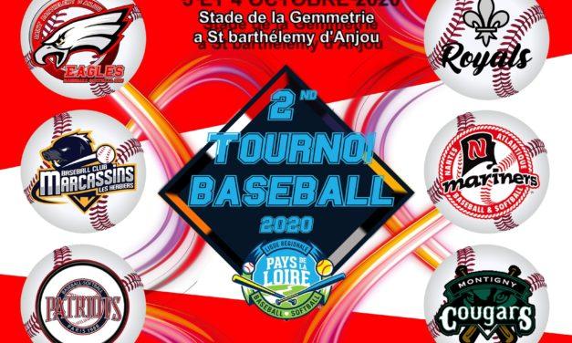 Présentation des six équipes de la seconde édition du tournoi de Baseball.