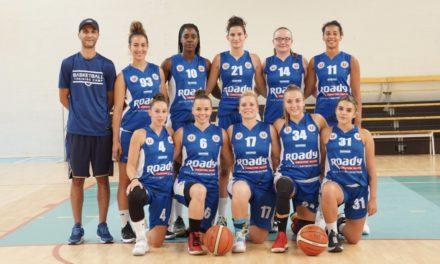 Les filles du SLB 49 s'imposent en Bretagne à Landerneau (80-70).
