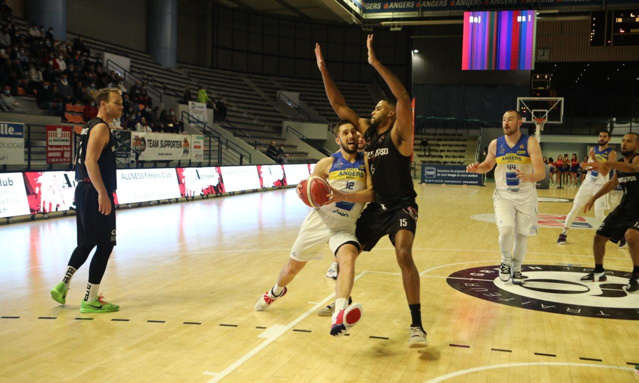 NM1 (J2) : Angers s'offre une première victoire dans la douleur face à Vanves (81-73).