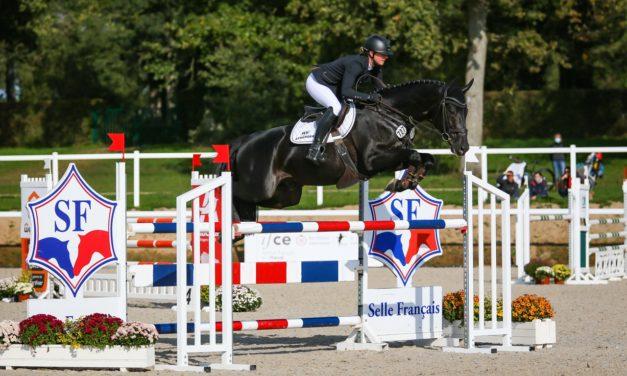 Mondial du Lion des sept ans : Sophie LEUBE, de bout en bout !