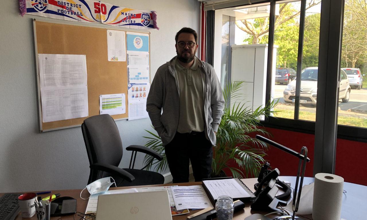 Entretien avec Sébastien CORNEC, le président du District de Maine-et-Loire de football.