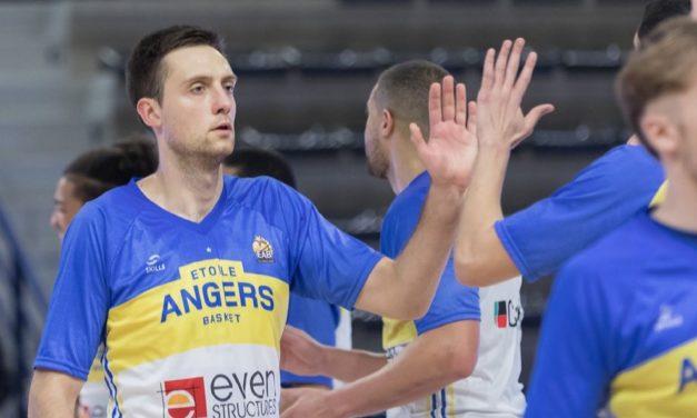 Tours – EAB : 68-69. Cinq à la suite pour l'Étoile Angers Basket !