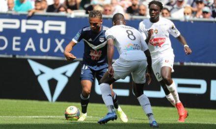 L1 (J3) : Les Angevins obtiennent un bon match nul en Gironde (1-1).