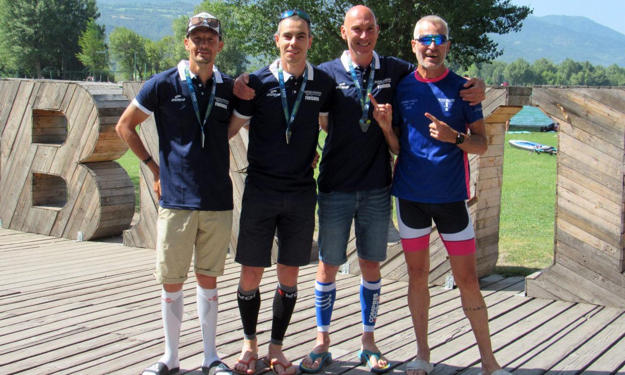 Trois nouveaux finishers de l'Embrunman pour le Segré Triathlon ESSHA !