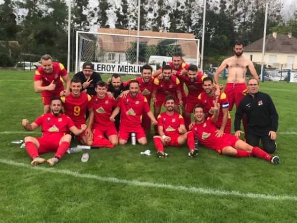 CF (3e T.) : Match sérieux de Pellouailles-Corzé à Moncé-en-Melin (3-0).