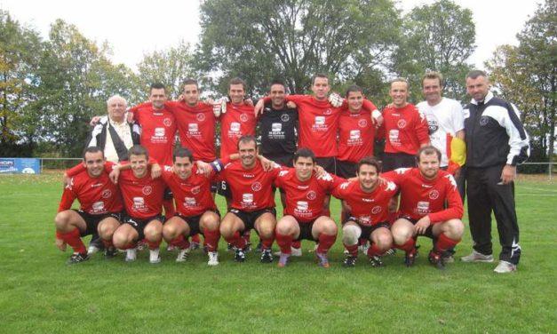 CF (1er T.) : Victoire encourageante pour Villevêque-Soucelles face à la Ménitré (2-1).