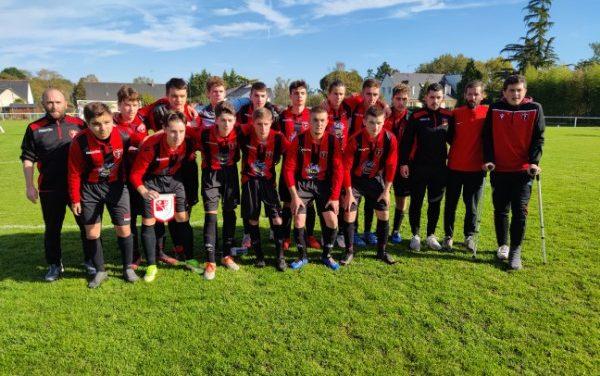 Les U18 de Longuenée quittent logiquement la Gambardella (0-5) face à la Roche.