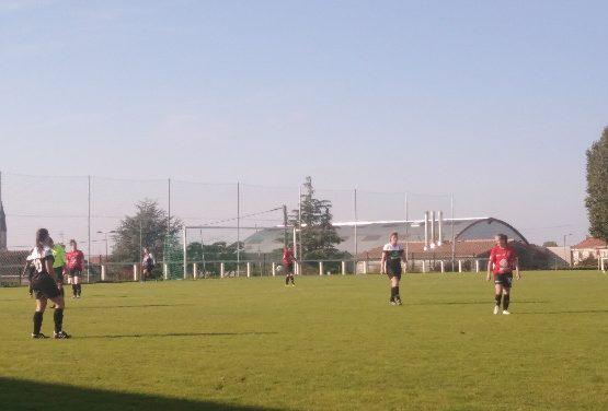 R1F (J2) : Les Choletaises remporte avec la manière, le derby des Mauges à Andrezé (5-2) !